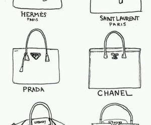 Prada, chanel, and bag image