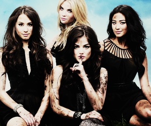 pretty little liars, pll, and aria image