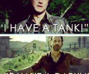 the walking dead, daryl, and rick image