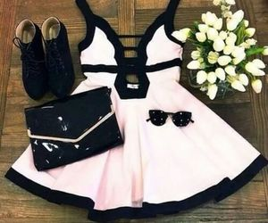 bag, cool, and dress image