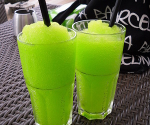 drink, green, and summer image