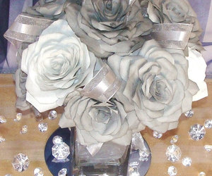 centerpieces, home decor, and baby shower image