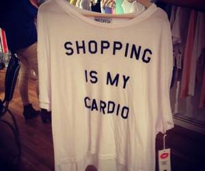shopping, shirt, and tshirt image