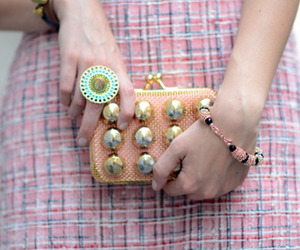 clutch, fashion, and bag image