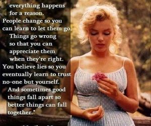 quote, Marilyn Monroe, and marilyn image