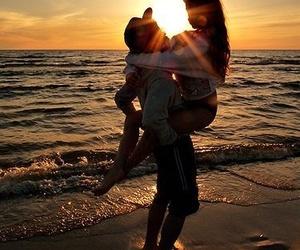 couple, hold, and hug image