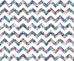 fashion, floral, and pattern image