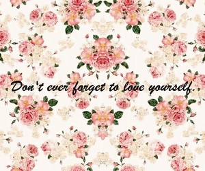 flowers, happiness, and quotes image