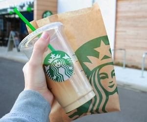 starbucks, tumblr, and drink image