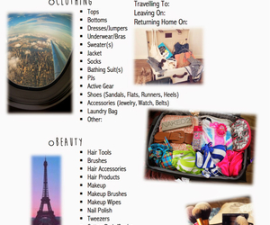 packing list image
