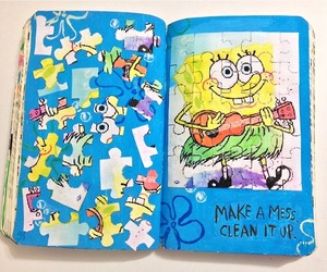 keri smith, puzzle, and wreck this journal image