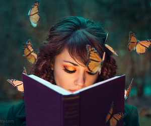 beautiful, book, and nature image
