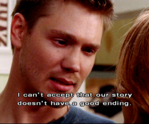 chad michael murray, one tree hill, and quote image