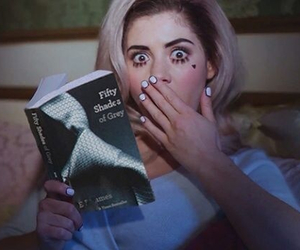marina and the diamonds, fifty shades of grey, and book image