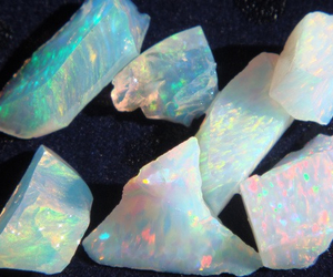 crystal, grunge, and opal image