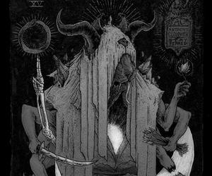 Devil, animal, and satanic image