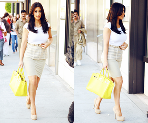 kim kardashian, fashion, and bag image