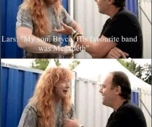 dave mustaine and lars ulrich image
