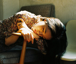 girl, asian, and indie image