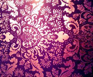 purple, pattern, and pink image
