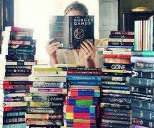 book, read, and hunger games image