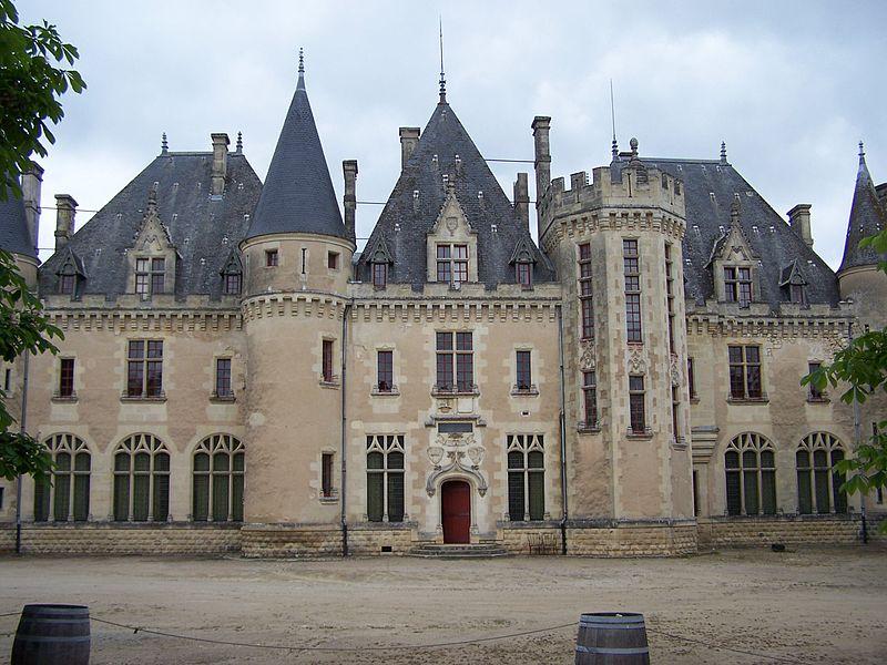 chateau, france, and renaissance image