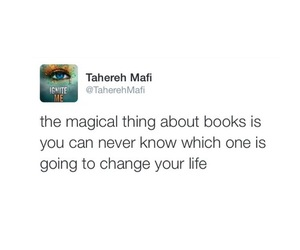 books, shatter me, and tahereh mafi image