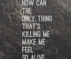 alive, love, and quote image