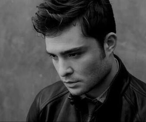 chuck bass, ed westwick, and gossip girl image
