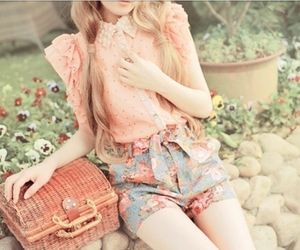 bag, beauty, and spring image
