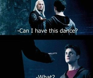 harry potter, lol, and dance image