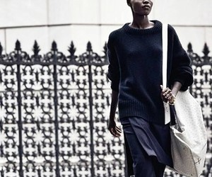 bag, black, and minimalistic image