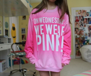 pink, tumblr, and mean girls image