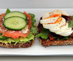 food, healthy, and bread image