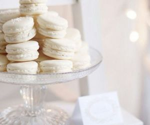 delicious, macaron, and love image