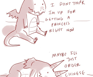 adorable, dragons, and funny image