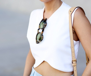 fashion, sunglasses, and classy image