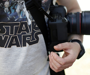 star wars, camera, and photography image