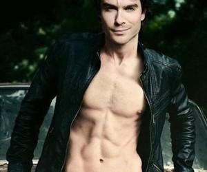 the vampire diaries, tvd, and ian somerholder image