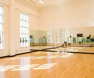 dance, mirrors, and room image