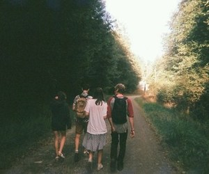 friends, indie, and nature image