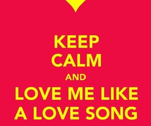 keep calm and image