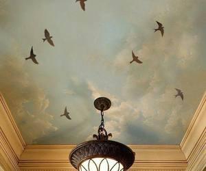 bird and chandelier image