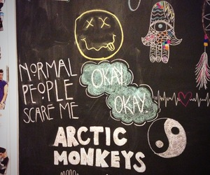 nirvana, arctic monkeys, and grunge image