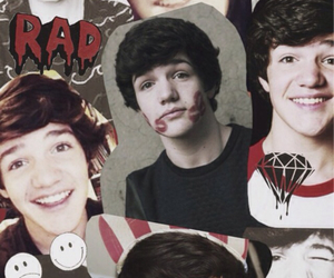 boy, Collage, and aaron carpenter image