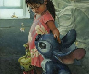 art, disney, and lilo & stich image