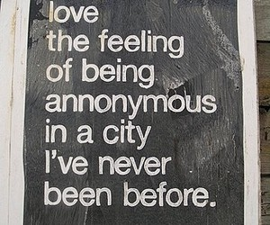 city, quotes, and text image