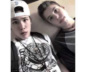 carter, Matthew, and magcon image