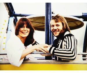 benny andersson, anni-frid lyngstad, and Abba image