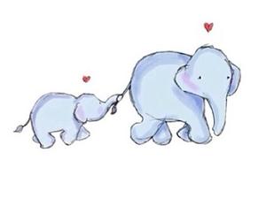 elephant, animal, and ariana grande image